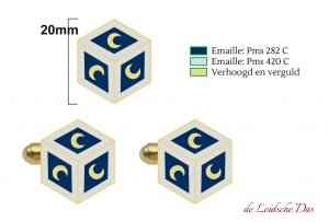 Cufflinks or pins