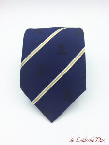 Custom designed neckties for a company, custom woven neckties in a personalized tie design