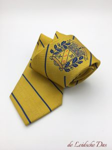 Personalized neckties, custom made neckties with a crest, logo or coat of arms