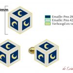 Personalized logo cufflinks
