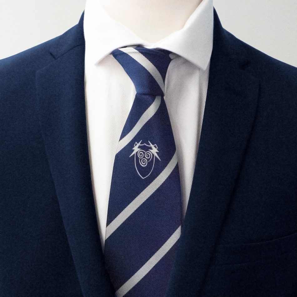 Custom-designed ties with your logo, custom ties woven in your personalized tie design