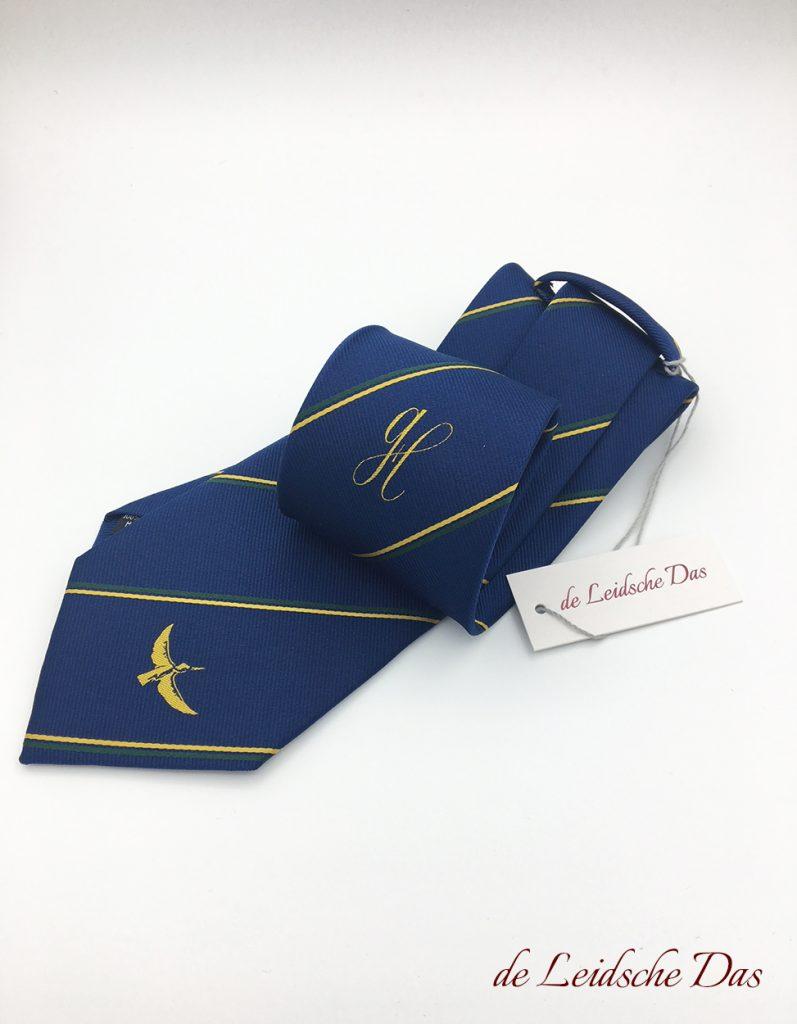 Assocation custom neckties, tailor-made neckties woven in your custom made necktie design