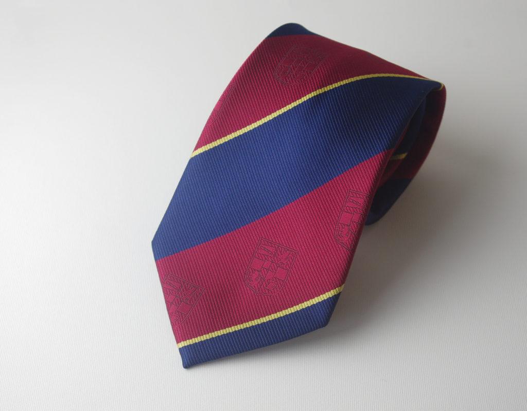 Custom Made Club Ties in Club Colors