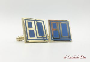 Cufflinks custom made for men, custom cufflinks with your crest or logo in a personalized design