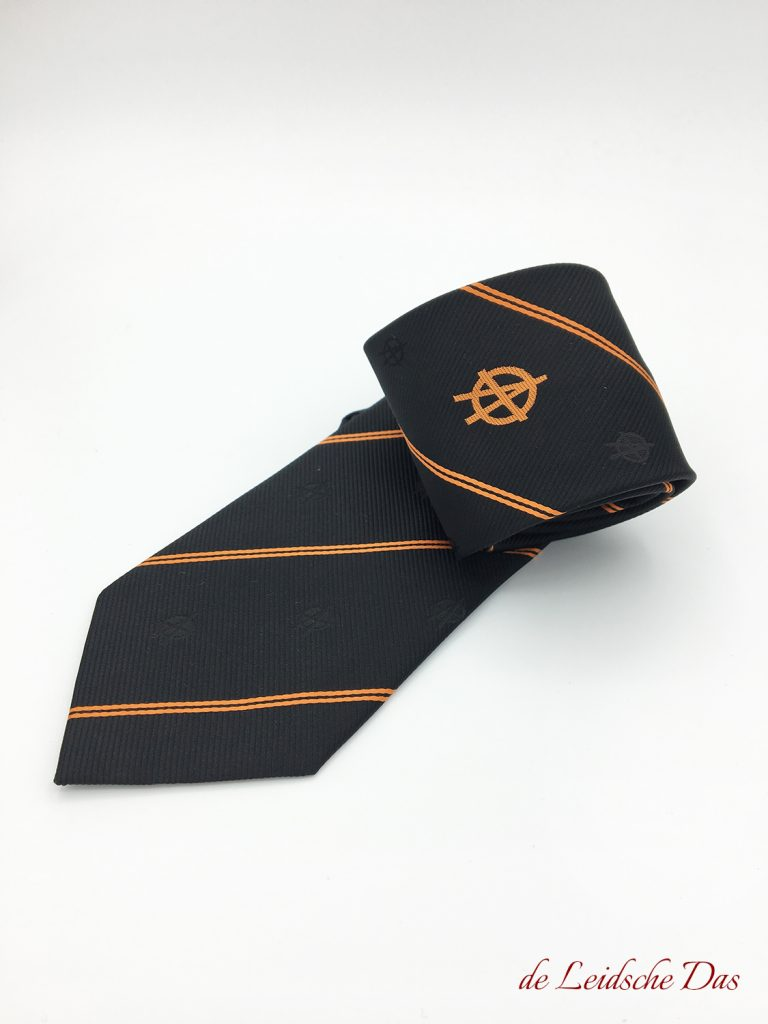 Corporate neckties custom made with logo