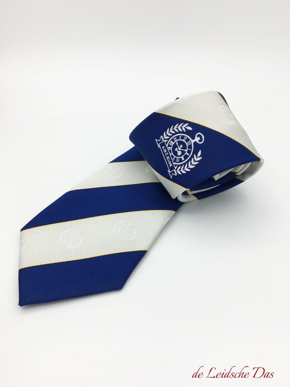Custom neckties with club logo
