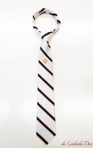 Custom handmade necktie with logo, neckties made in your personalized necktie design