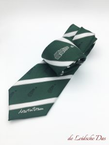 Logo ties manufactured to your own design, custom made neckties in a personalized necktie design