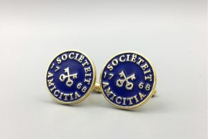 Custom Gentlemen's Society logo Cufflinks