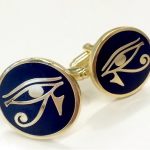 Custom logo Cufflinks specially made for a society