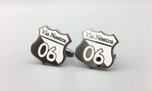 Logo Cufflinks Made to Order for a Special Occasion