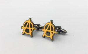 Personalized Company Logo Cufflinks Custom Made