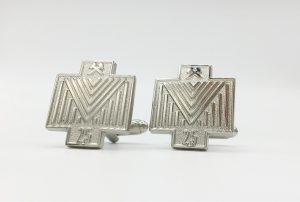 Custom Made Logo Cufflinks