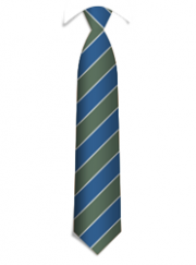 Bespoke striped ties, vertical weaving structure for striped logo ties
