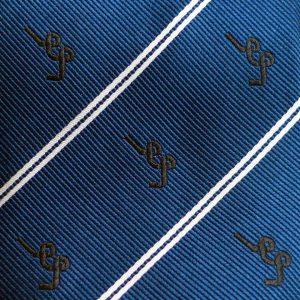 Weaving Structure Diagonal Perpendicular Custom Ties