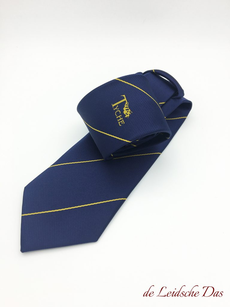 Neckties with Logo made by the Leidsche Das