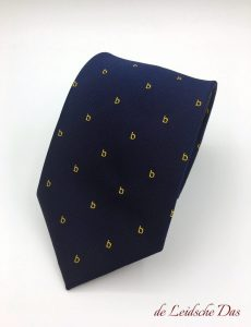 Custom made silk ties with your club or company logo woven in your personalized tie design