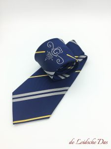 Logo Ties Made in Custom Tie Pattern