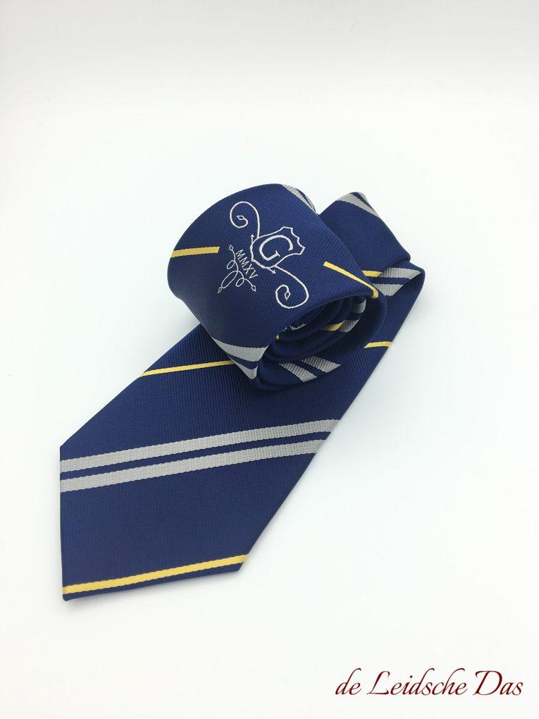 Logo Ties Made in Custom Tie Pattern