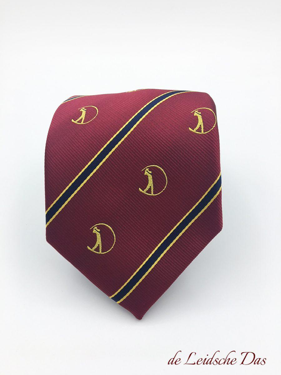 Tie Custom Made for a Golf Club