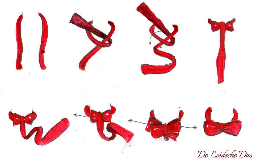 Custom self tie bow tie