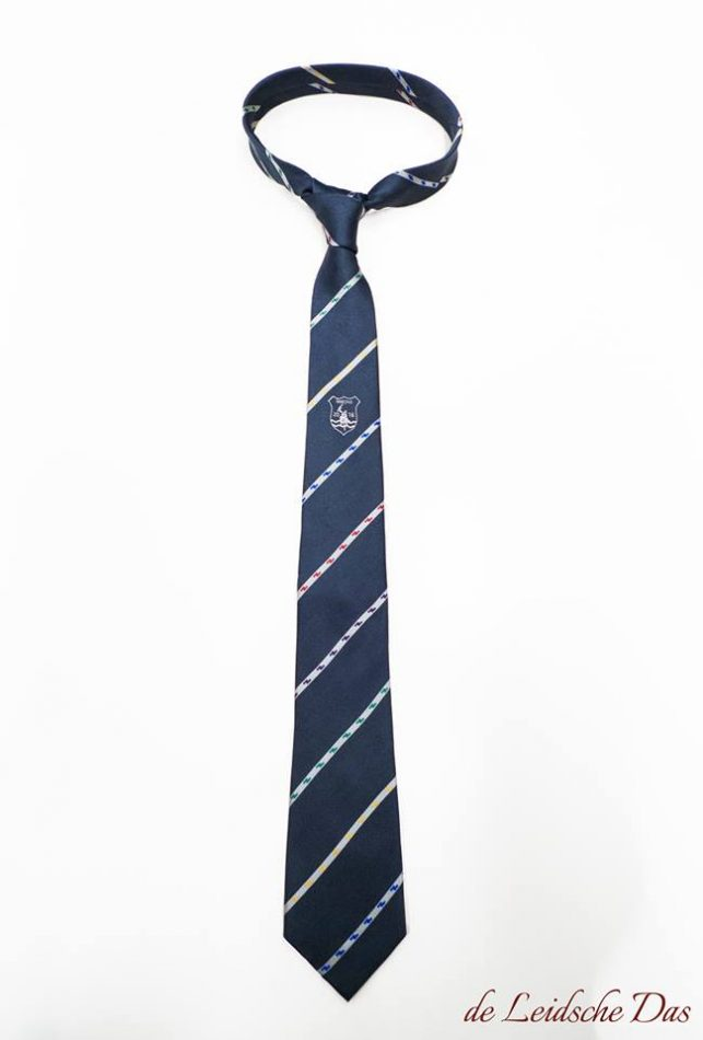 Custom made blue ties with your logo