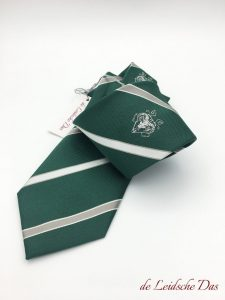 Dapper ties made with logo in a custom design