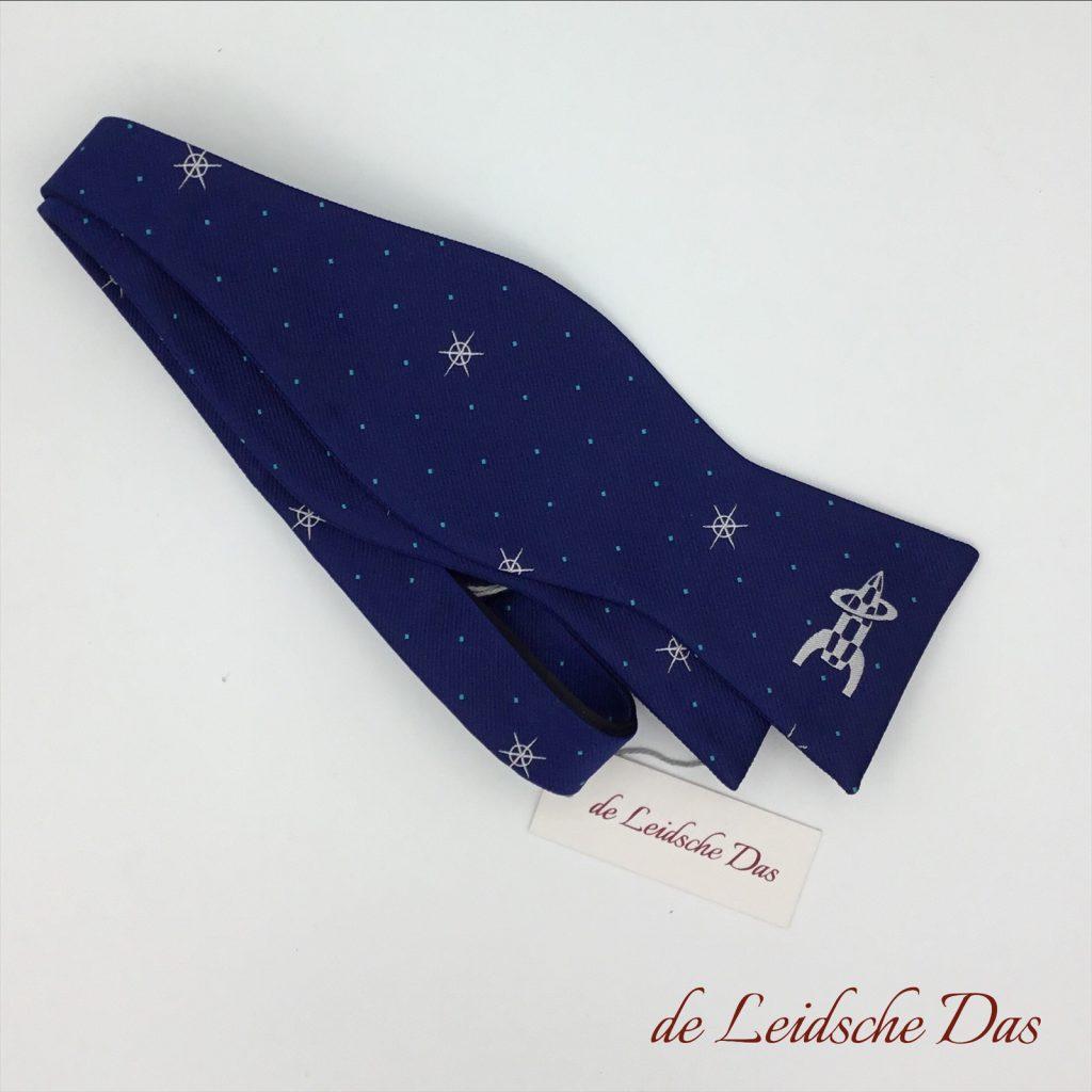 Custom woven logo bow ties - Self-tied bow ties