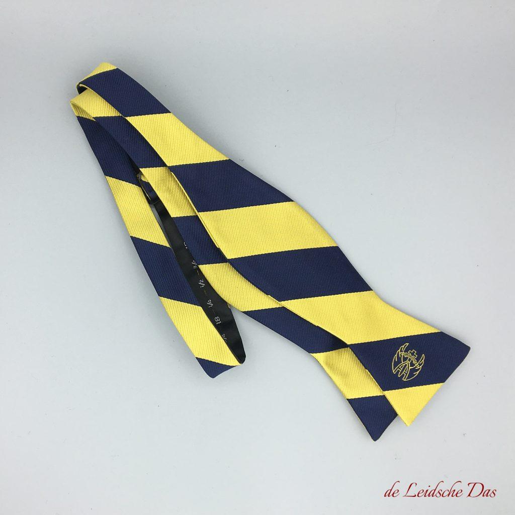 Logo bow ties custom woven - Self-tied bow ties