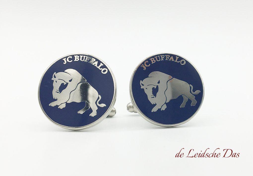 Logo cufflinks manufactured to design - Cufflinks manufacturer
