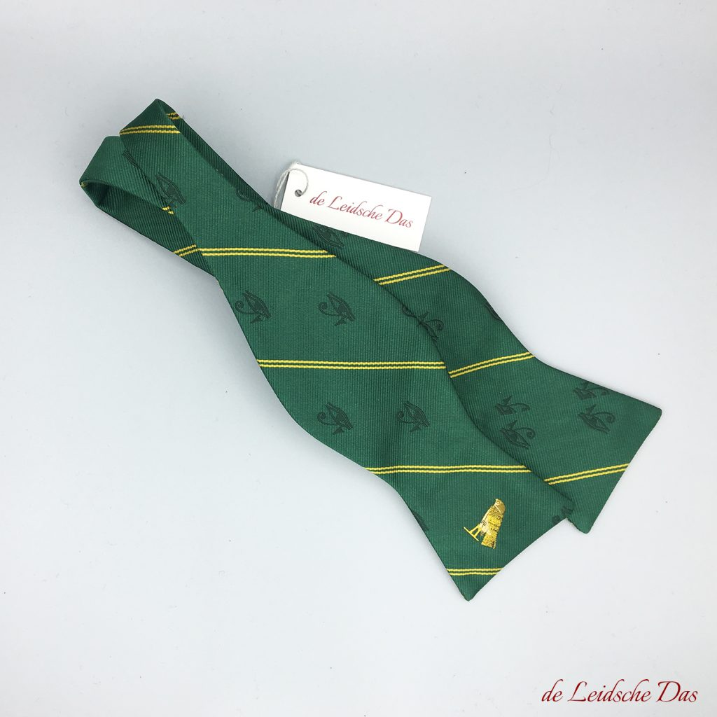 Tailor made logo bow ties for men - logo apparel