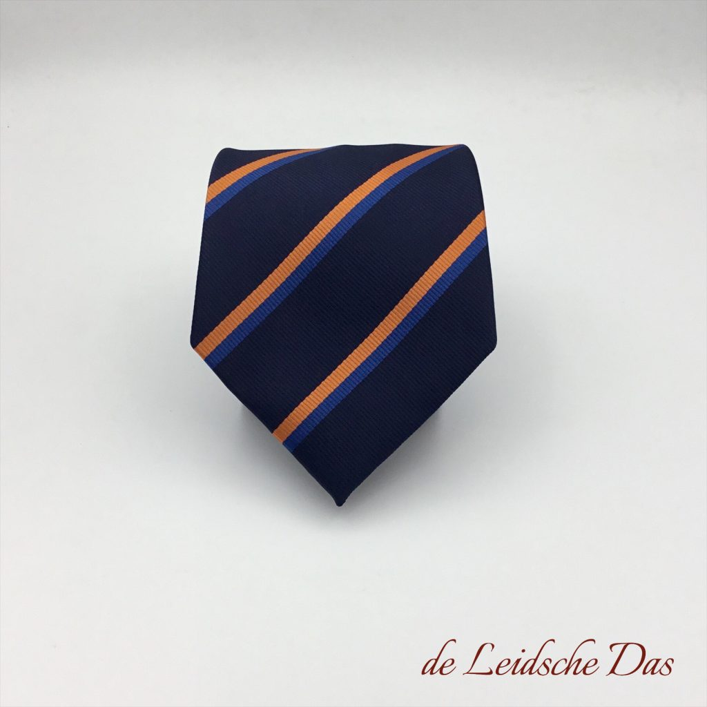 Tie custom made in association colors