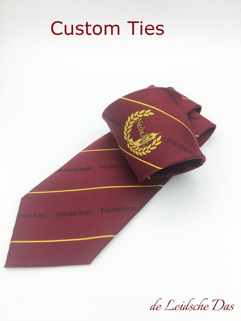 Custom woven ties in any design - Necktie with logo