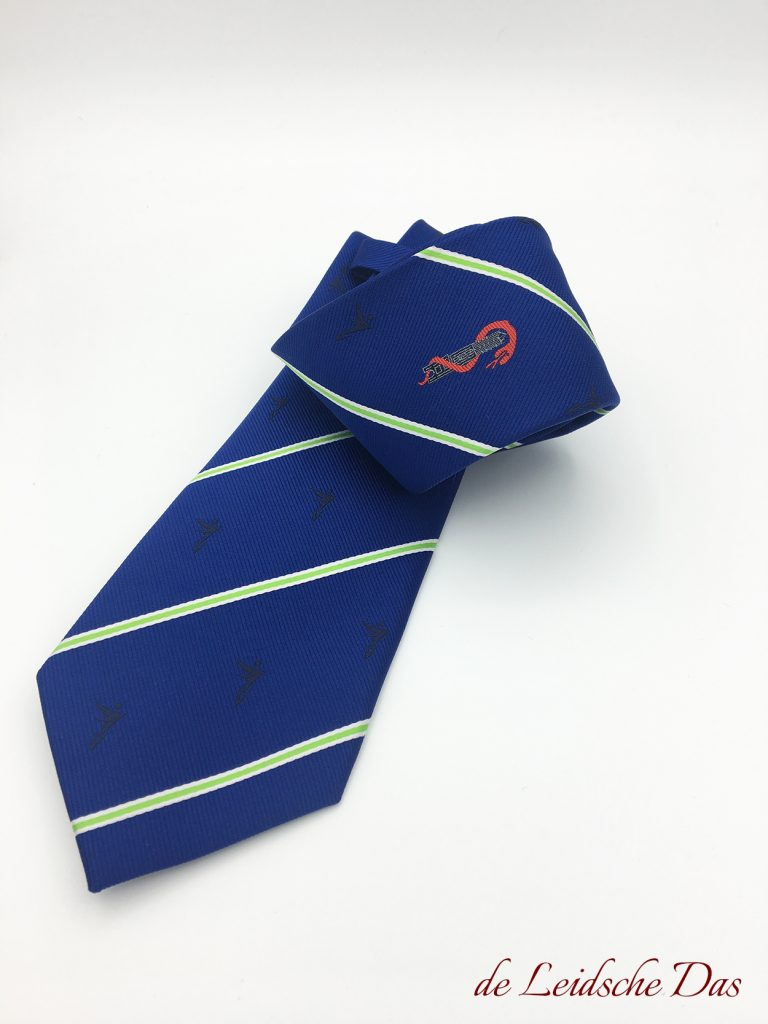 Woven logo ties - Custom ties with your logo