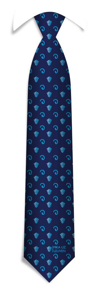 Uniform silk ties, Custom silk ties we made for a hospital in Belgium