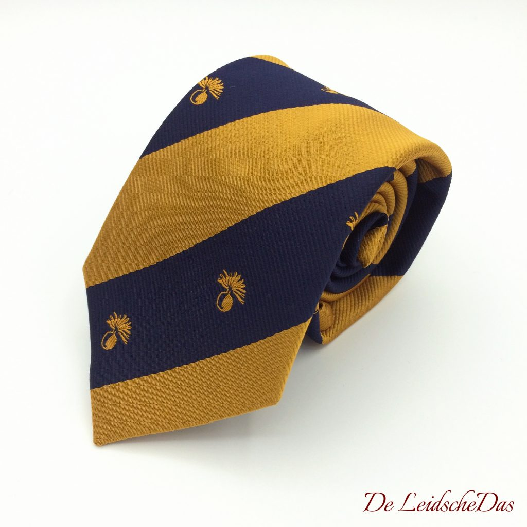 Neckties with a association logo - Custom tailored ties in your personalized tie design