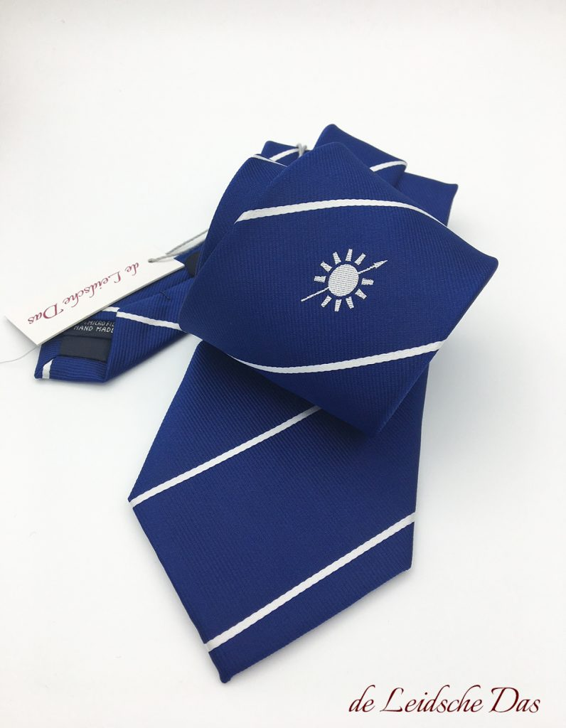 Custom tailored ties custom woven in your personalized tie design