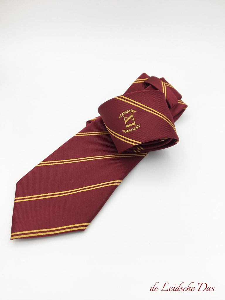 Free necktie design service, custom woven ties in your personalized tie design