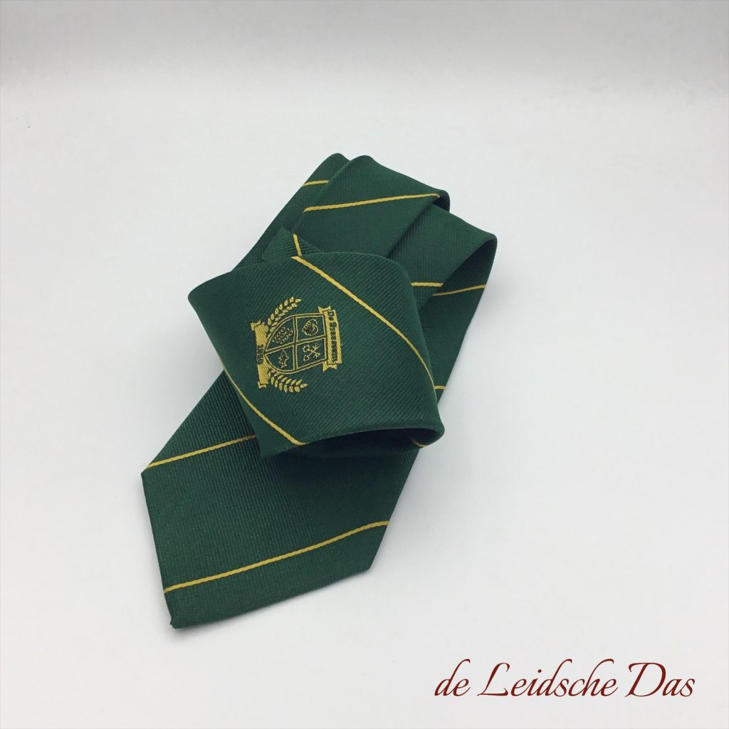 Custom woven team neckties, Custom team ties with your club logo & club colors