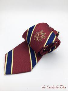 Personalized ties woven in your custom necktie design by necktie brand the Leidsche Das