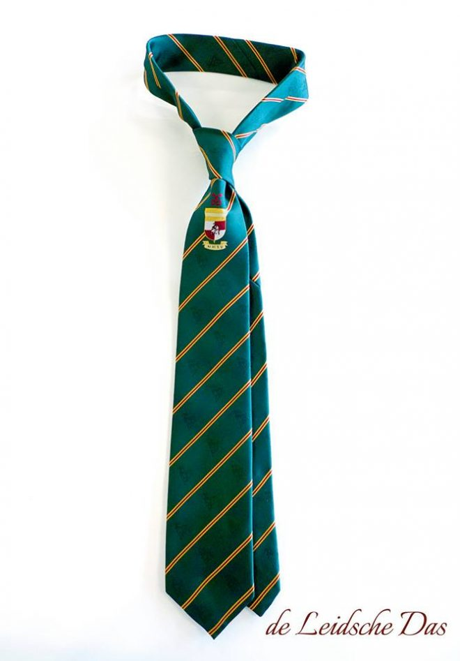 Personalized tie made in your own tie design, custom made neckties for companies & clubs