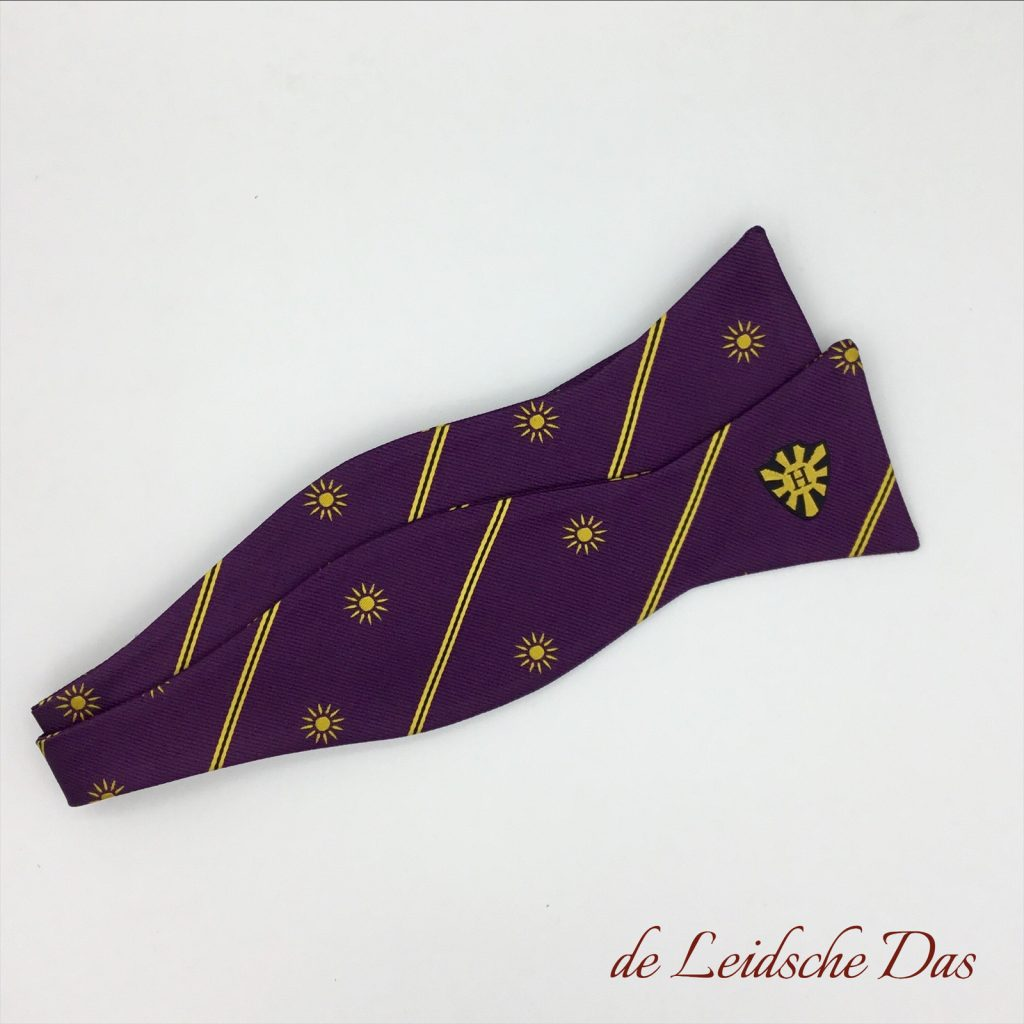 Self-tie bowtie custom woven in your personalized bow tie design