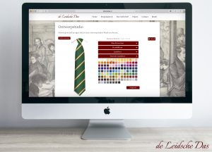 Online necktie designer, Create your own custom necktie design for clubs or organizations
