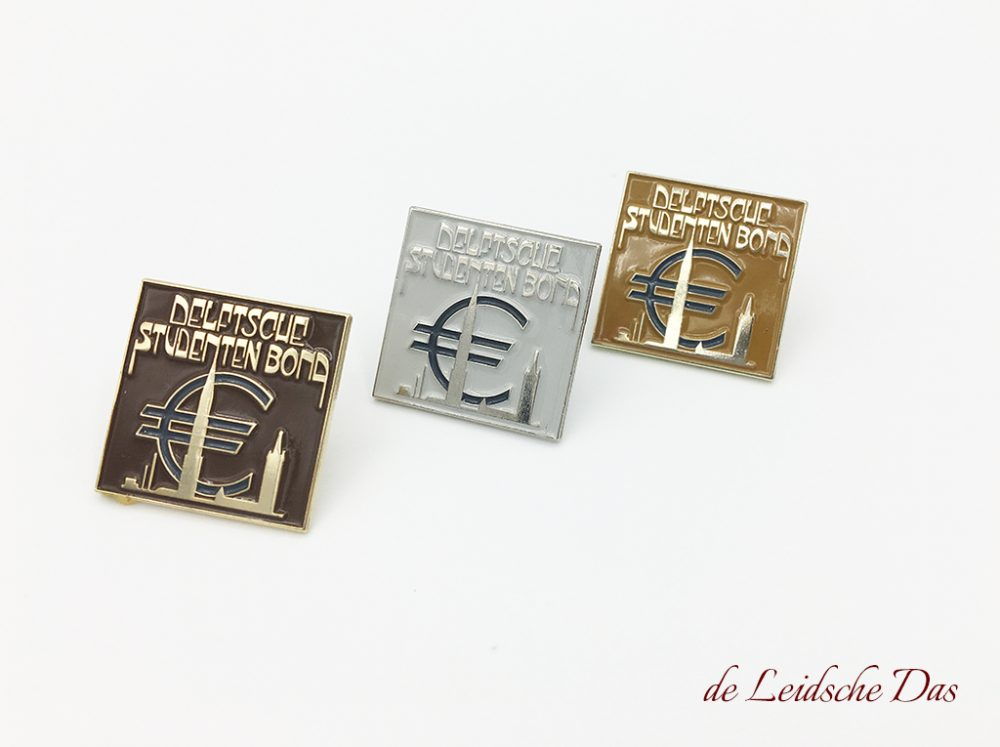 Customized lapel pins, custom made lapel pins in enamel in a customer specific pin design