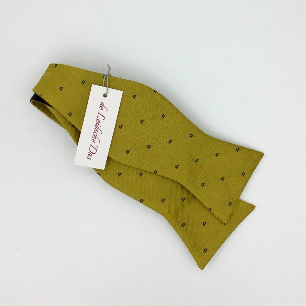 Bespoke self-tie personalised bowtie, custom made bow ties in your own custom design