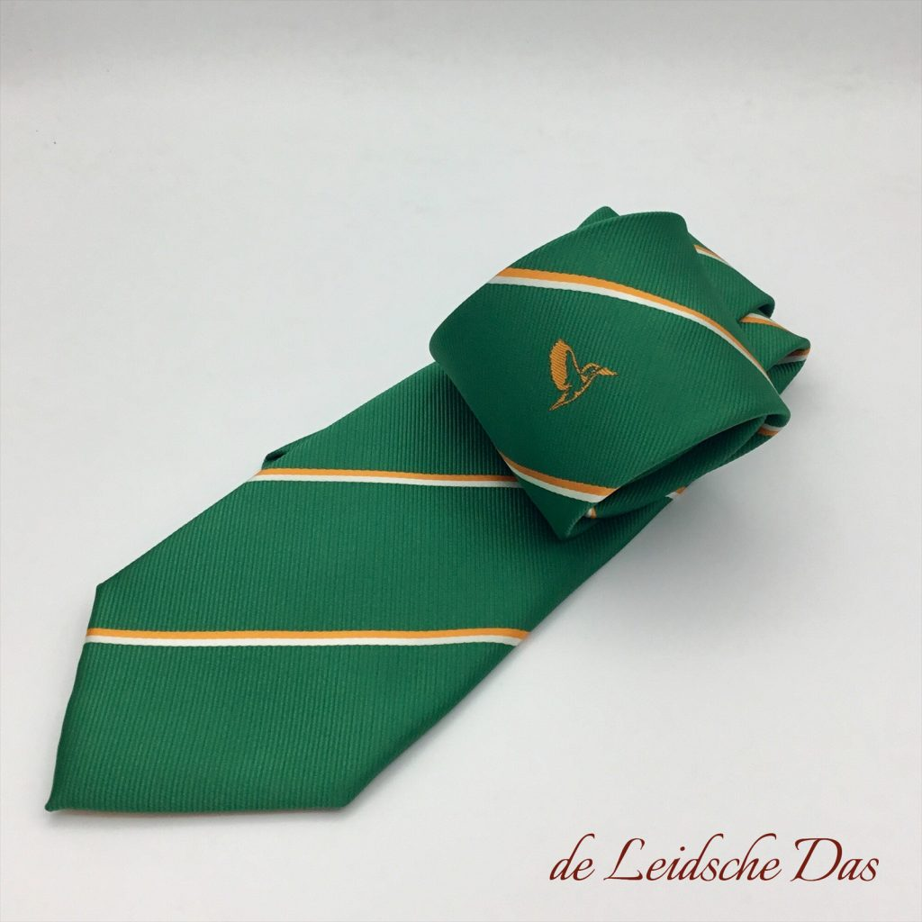Personalized custom woven logo tie, custom made ties with logo in the desired pattern and colors