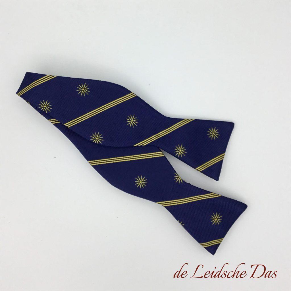Self-tie personalised silk bow ties and personalised bow ties in high-quality microfiber