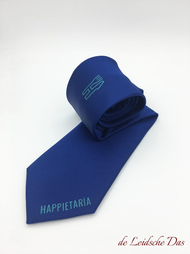 Specially made custom logo necktie custom woven in your personalized necktie design