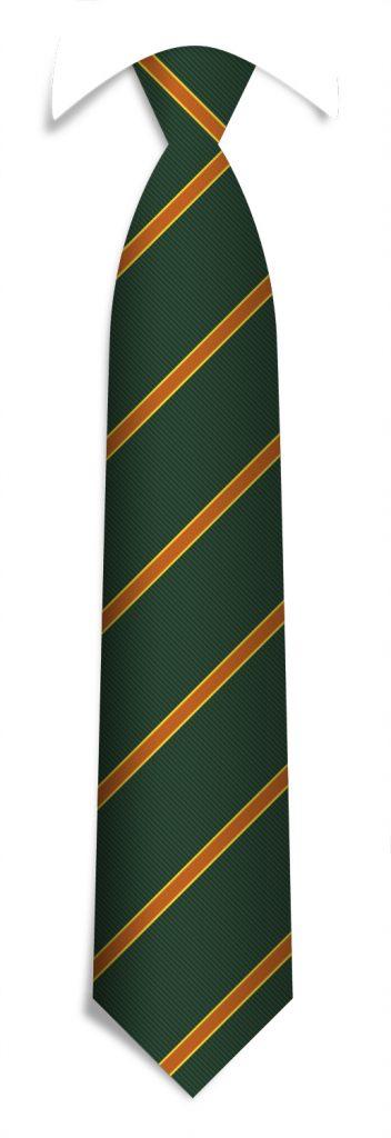 Custom-designed necktie, bespoke striped ties woven in your personalized tie design