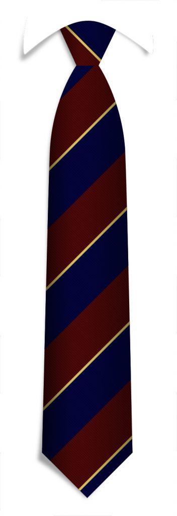 Custom designed pattern for promotional neckties